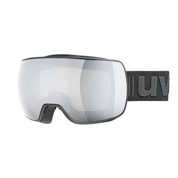 Uvex Compact FM Maschera Sci Black Silver Mirror