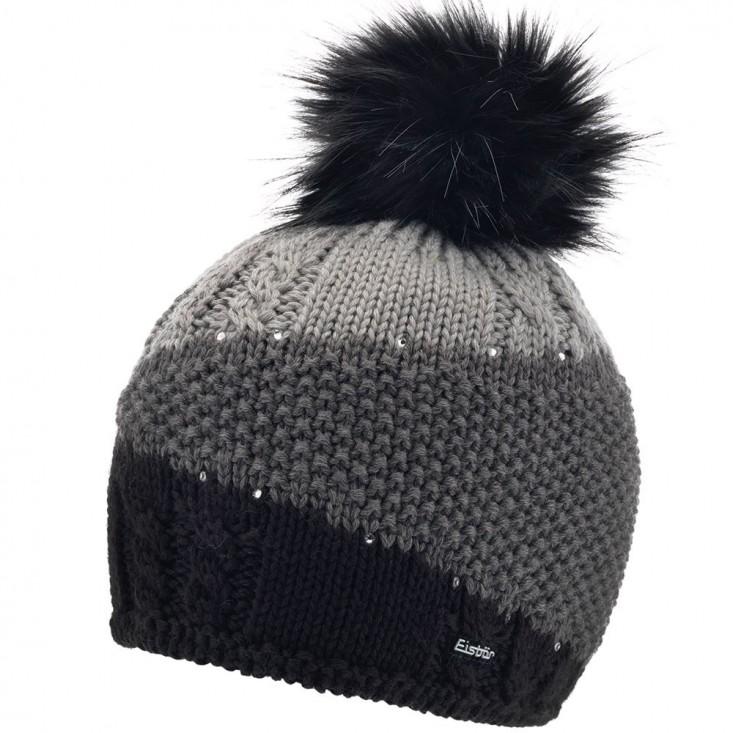 Eden Lux Crystal Cappello Grey Black