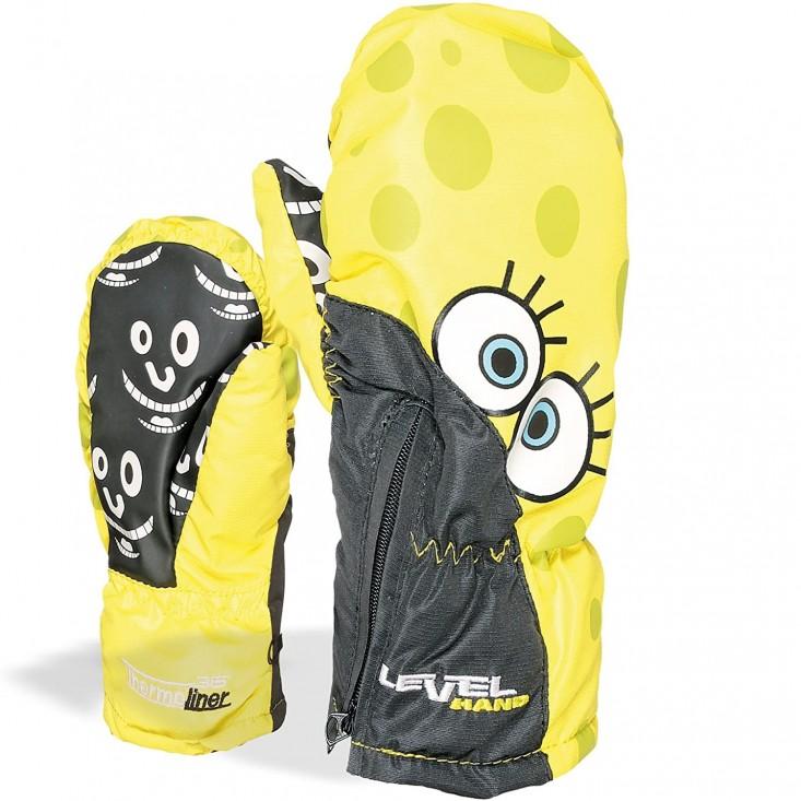 Lucky Guanto Sci Bambino Yellow