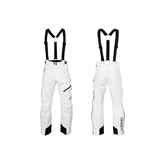 6 Cento 622 Pantalone Unisex Bianco