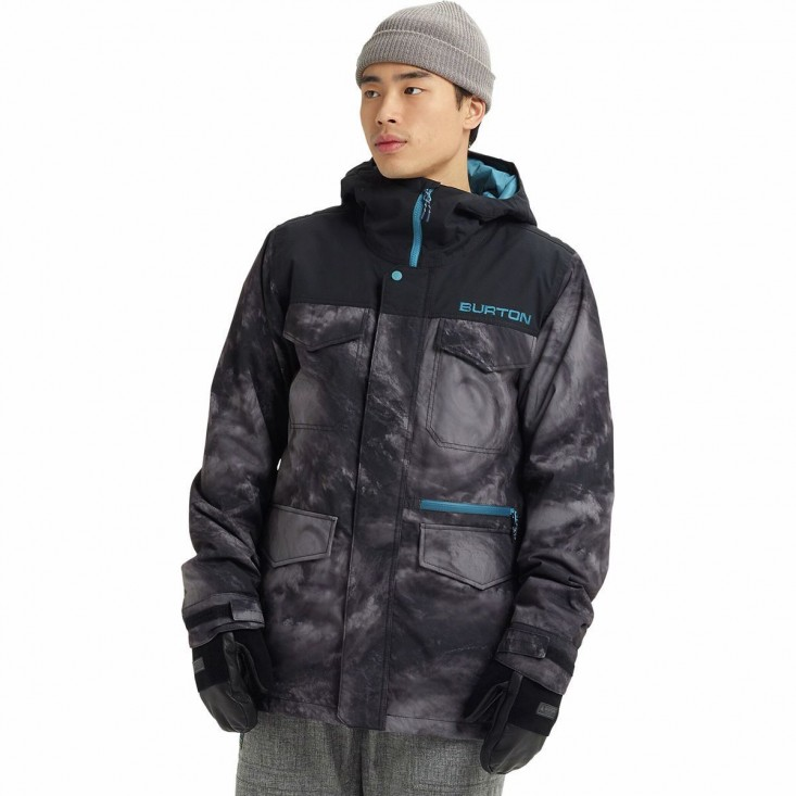 M Covert Jkt Giacca Snowboard Uomo Black Blue