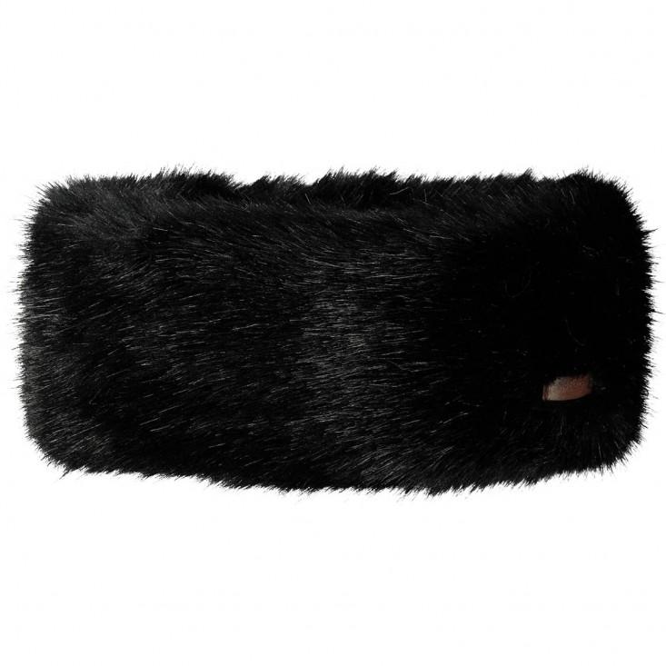 Fur Headband Fascia Black
