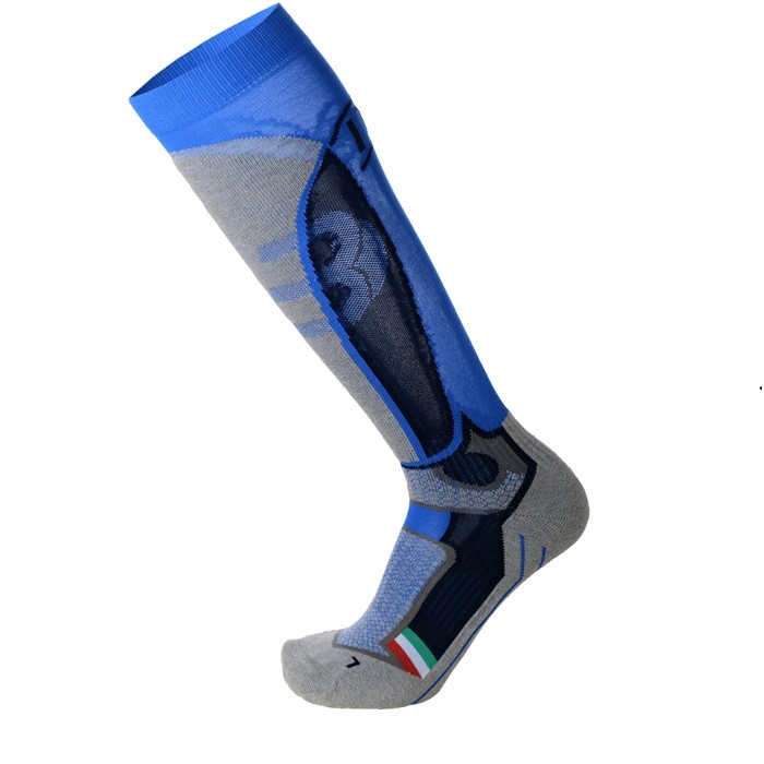 Mico Calza Ski Official Ita Medium Weight Calza Sci Italia Blu Notte | Mancini Store