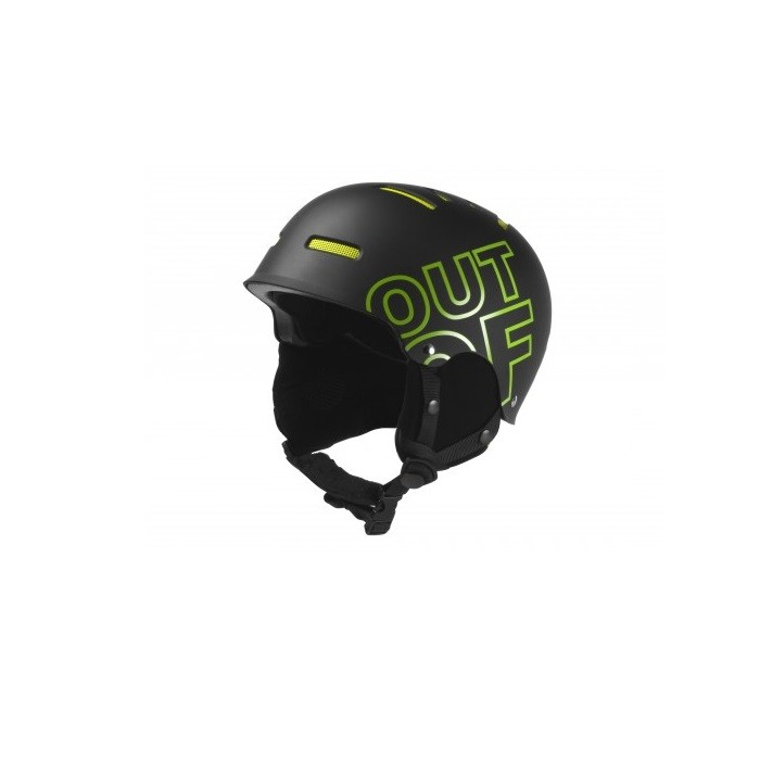 Out Off Wipeout Black Green - casco snowboard | Mancini Store