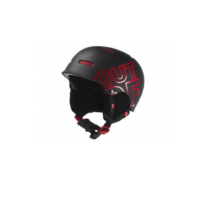 Out Off Wipeout Black Red - casco snowboard | Mancini Store