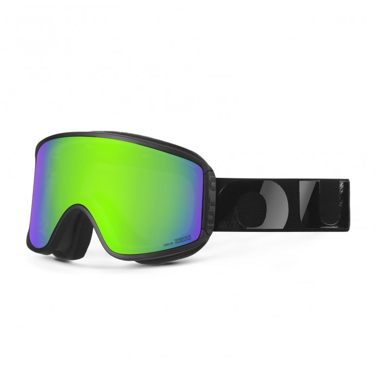 Shift Black Silicone Green MCI Maschera Snowboard + Bonus Persimmon