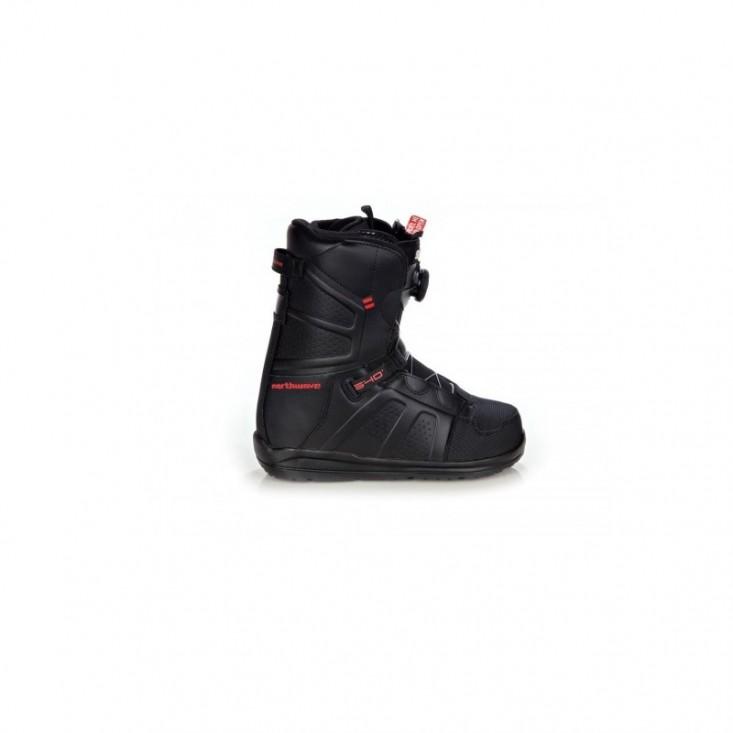 Hover Spin Scarponi Snowboard Uomo Black Red