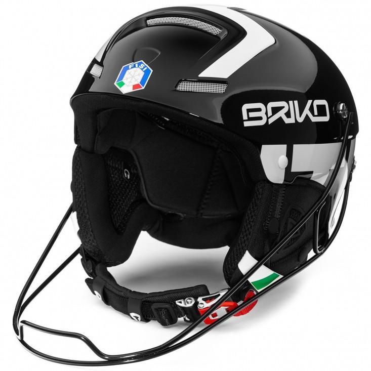 Briko Slalom FISI Black White - casco sci uomo   Mancini Store