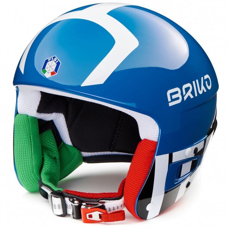 Briko Vulcano FIS 6.8 FISI Royal Blue - casco sci gara uomo | Mancini Store