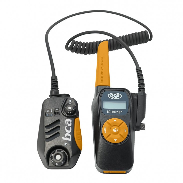 Bca BC LInk 2.0 - EU Black Yellow - sistema radio a 2 vie per montagna | Mancini Store