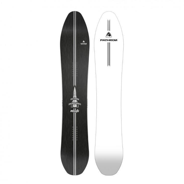 Pathron Missile  White Base - tavola snowboard uomo | Mancini Store