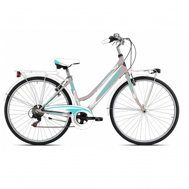 Torpado Albatros/Rondine T481 grigio verde bici 2020 | Mancini Store
