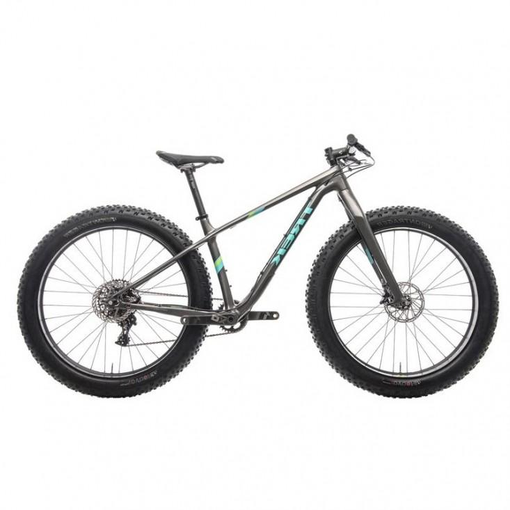 "Trek Farley 9.6 Grey/Green Fat Bike Carbon 26"" | Mancini Store"