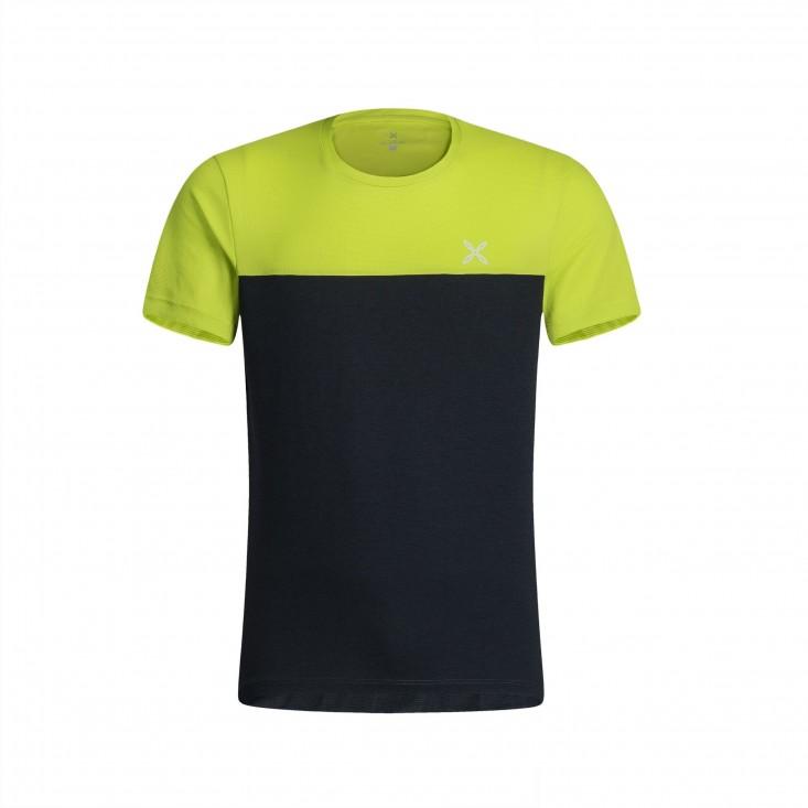 Outdoor 20 T-Shirt Montagna Uomo Antracite Lime 2020