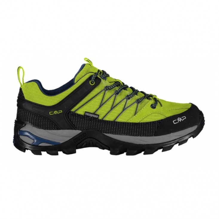 CMP Rigel Low scarpe trekking montagna verde/blu uomo | Mancini Store