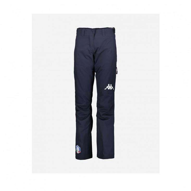 KAPPA 6Cento 665 FISI - pantaloni sci donna  blu notte | Mancini Store