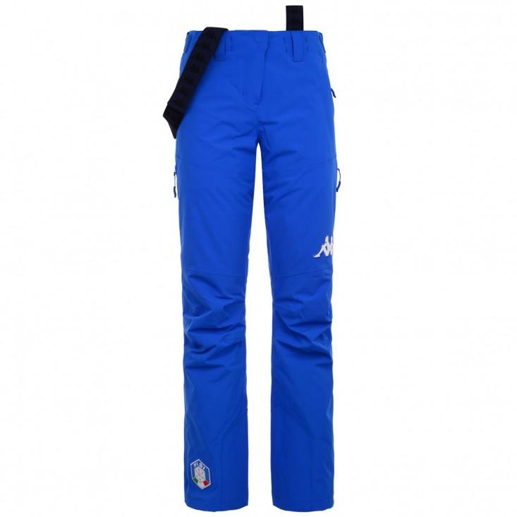 KAPPA 6Cento 665 FISI - pantaloni sci donna azzurri | Mancini Store