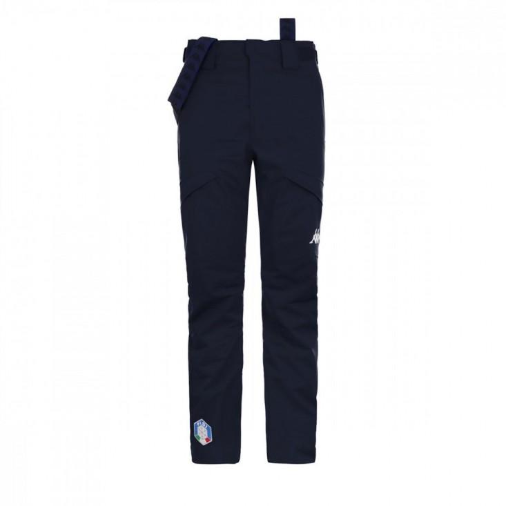 Kappa 6Cento 622 FISI - Pantalone Sci Uomo Blu Notte | Mancini Store
