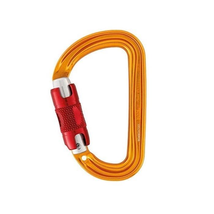Petzl Sm'D RL - moschettone da arrampicata giallo   Mancini Store