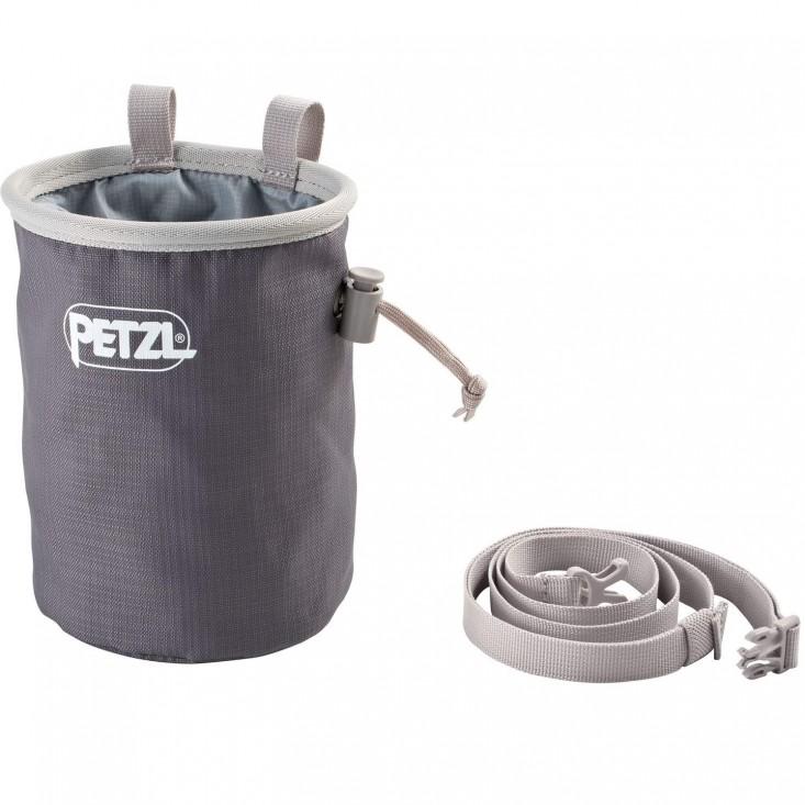 Petzl Sacchetto Magnesite Bandi Grey Accessori Arrampicata | Mancini Store