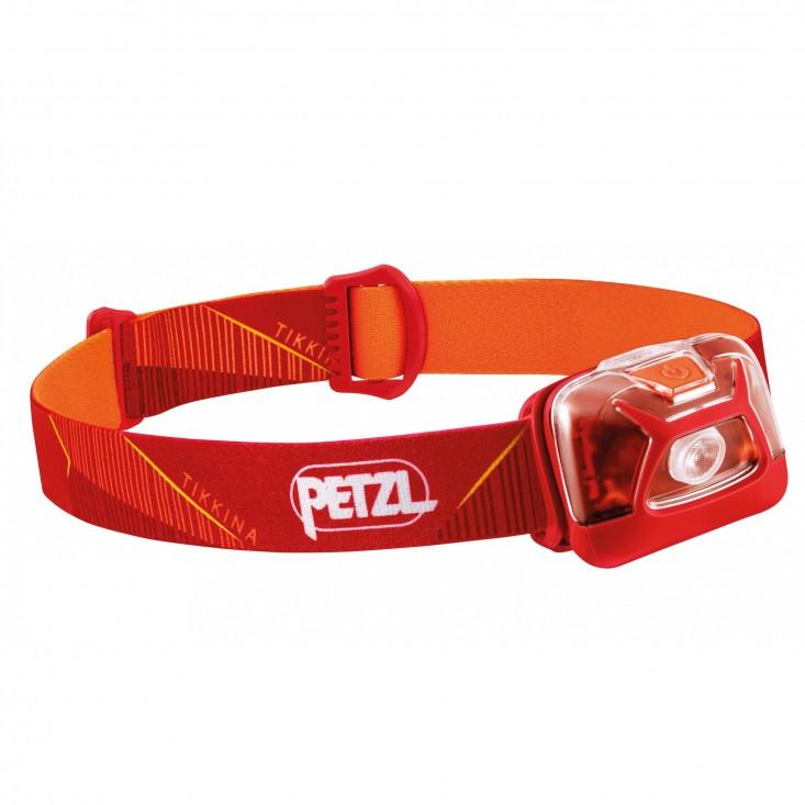 Petzl Tikkina - lampada frontale rossa   Mancini Store
