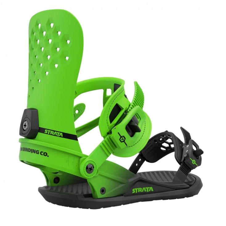 Union Strata - attacchi snowboard uomo Acid Green   Mancini Store