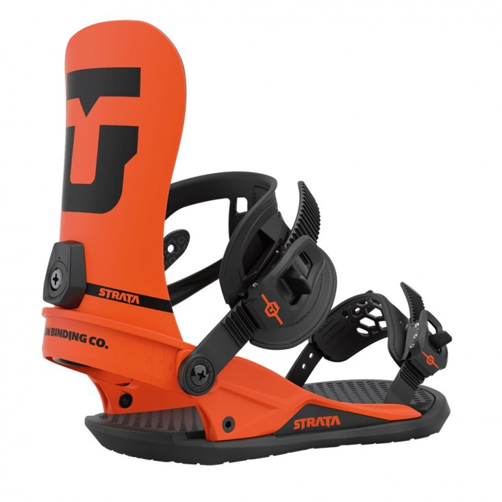 Union Strata - attacchi snowboard uomo arancio | Mancini Store