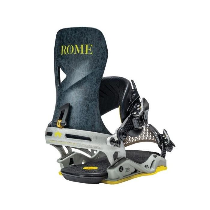 Rome Vice - Attacchi snowboard uomo grey lines   Mancini Store