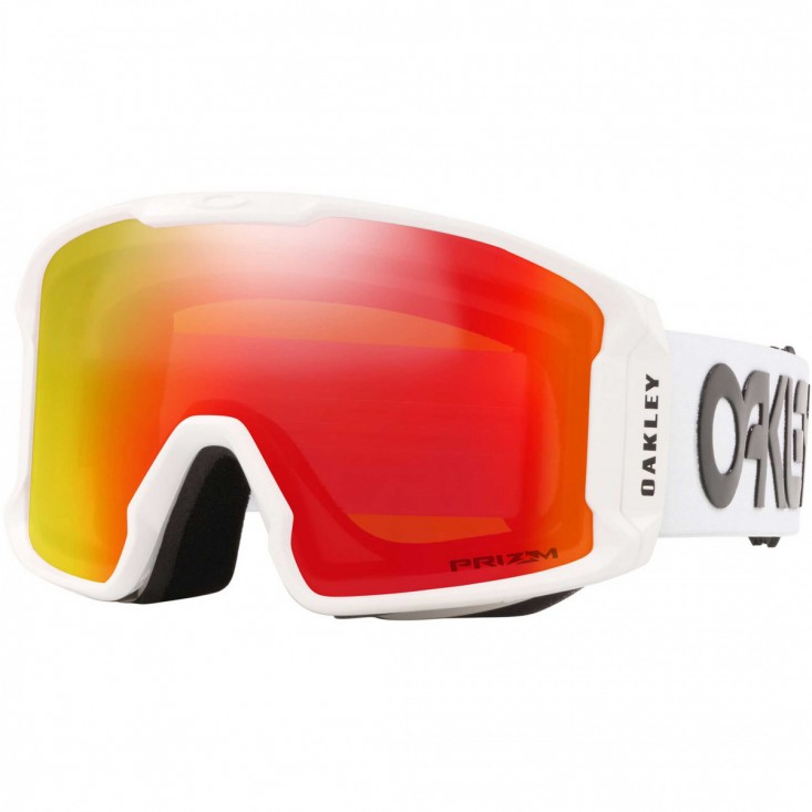 Line Miner XL FACTORY PILOT WHITE PRIZM SNOW TORCH IRIDIUM Maschera Snow