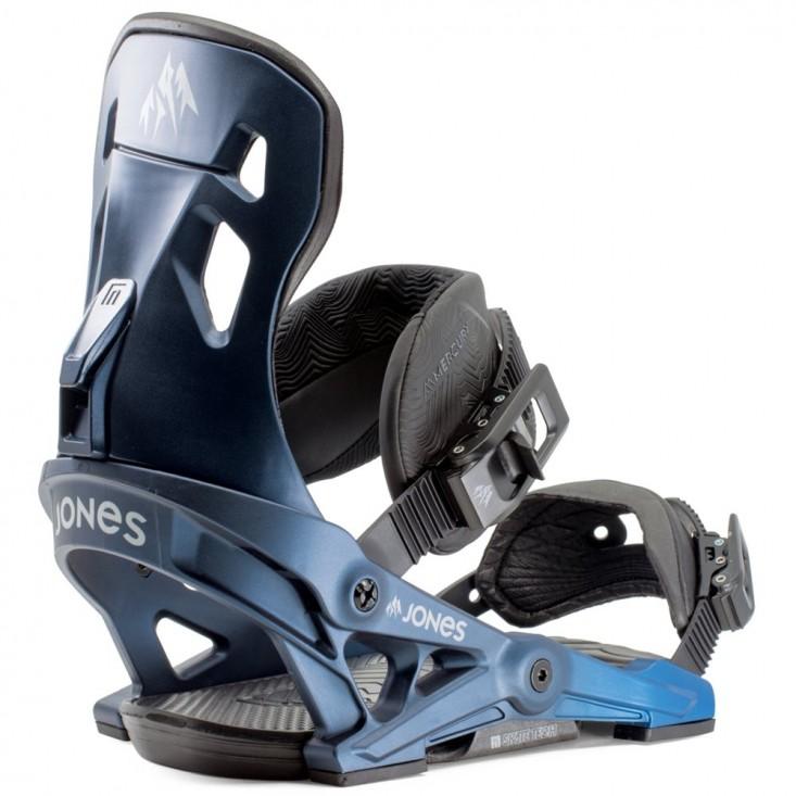 Jones Mercury Navy - Attacchi snowboard uomo | Mancini Store