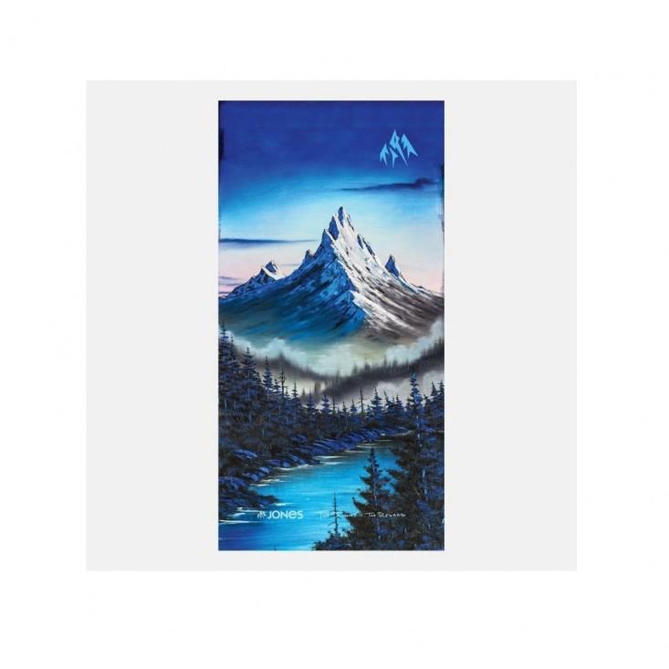 Nkw Alpine Vibes Scadacollo Snowboard Blue