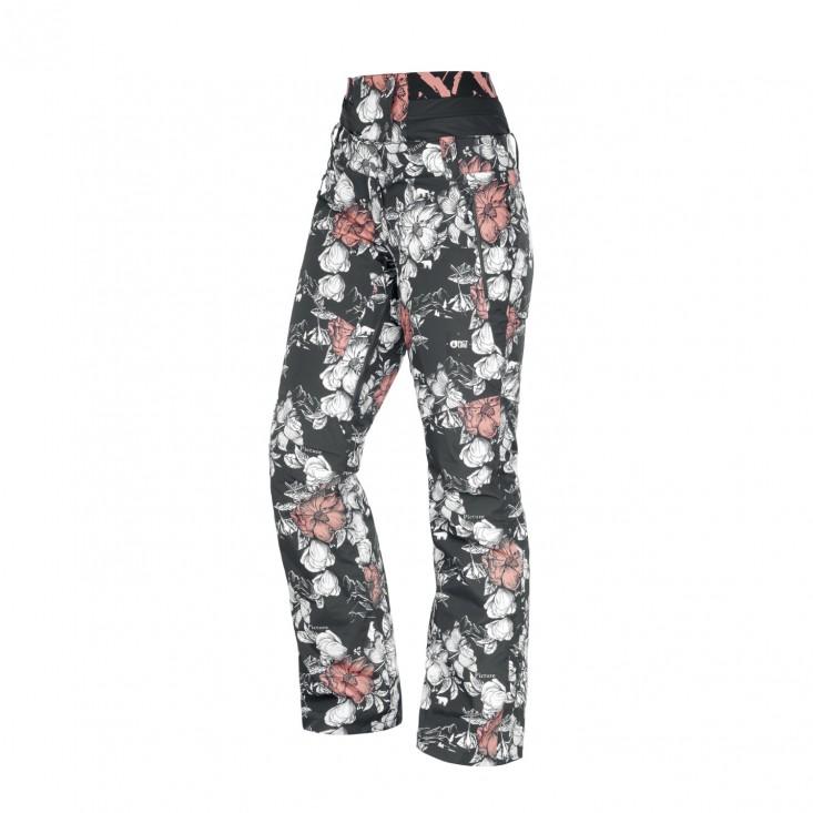 Exa Pant Pantalone Snowboard Donna Peonies Black