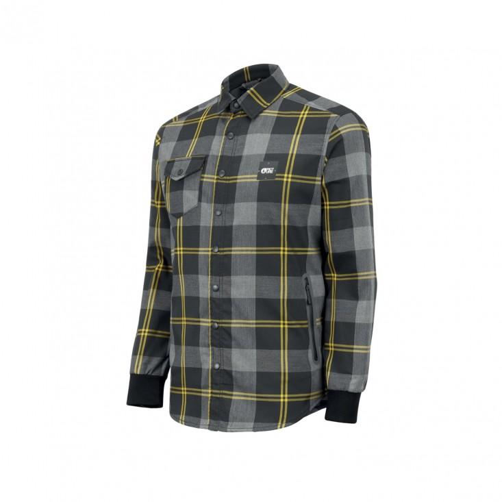 Marteen Tech Shirt Camicia Snowboard Uomo Black