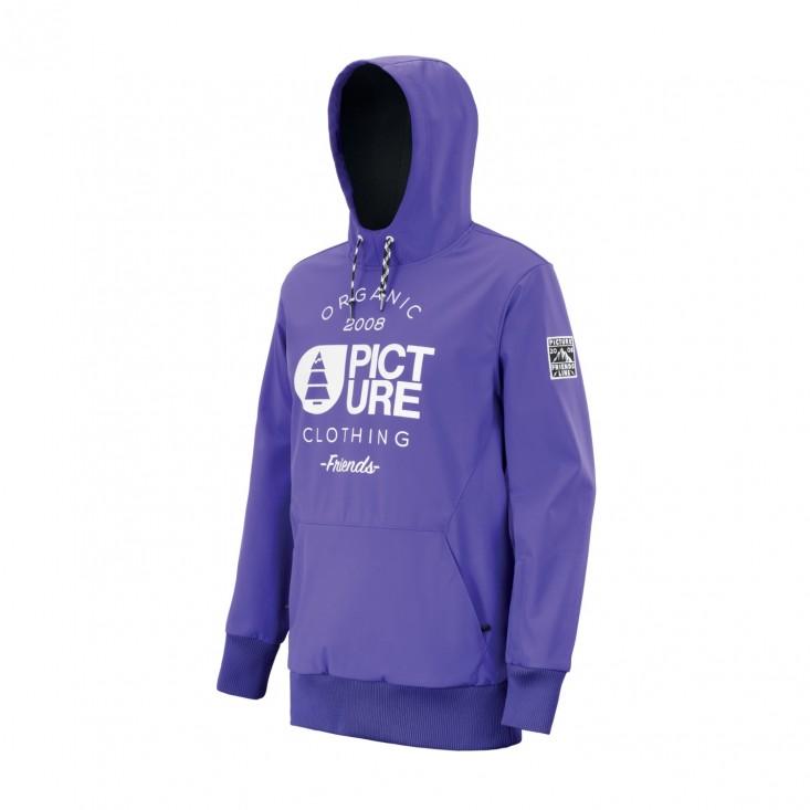 Parker Jkt Giacca Snowboard Uomo Purple