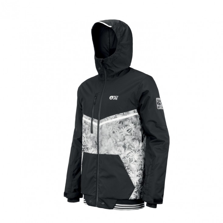 Panel Print Jkt Giacca Snowboard Uomo Drone Forest