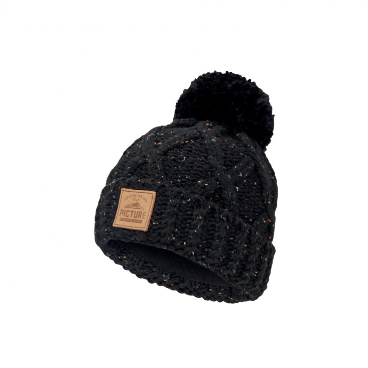 Haven Cappello Snowboard Donna Black Neps