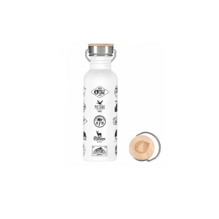 PIC Hampton Bottle Borraccia White