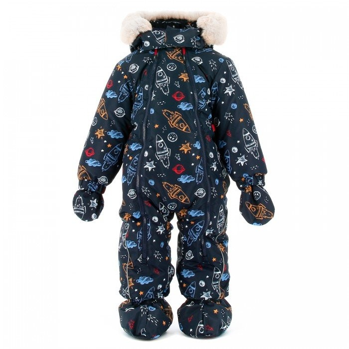 Kit Detachable Hood Over Tuta Sci Bambino Fantasy
