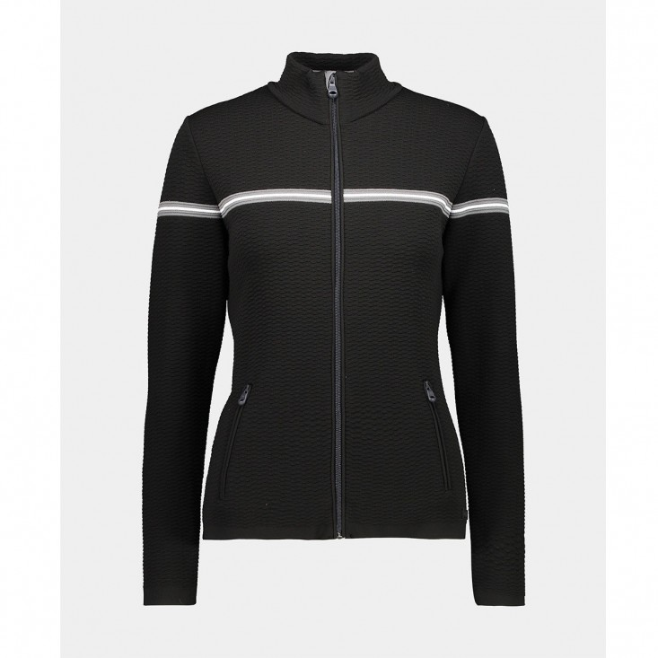 Woman Jkt Knitted Secondo Strato Donna Black