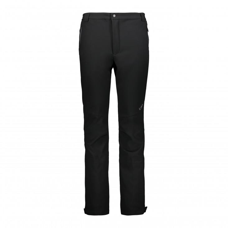 Man Pant Pantalone Sci Uomo Black