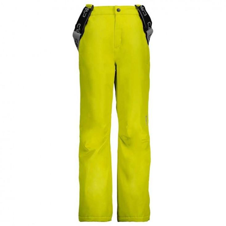 Kid Salopette Pantalone SCi Bambino Yellow Fluo