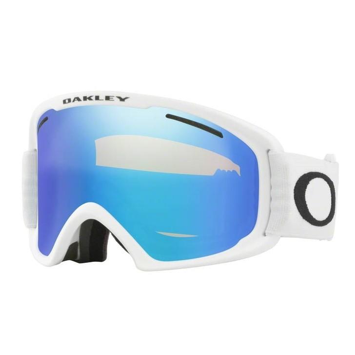 O Frame 2.0 Pro XL WHITE VIOLET IRIDIUM & PERSIMMON Maschera Snow