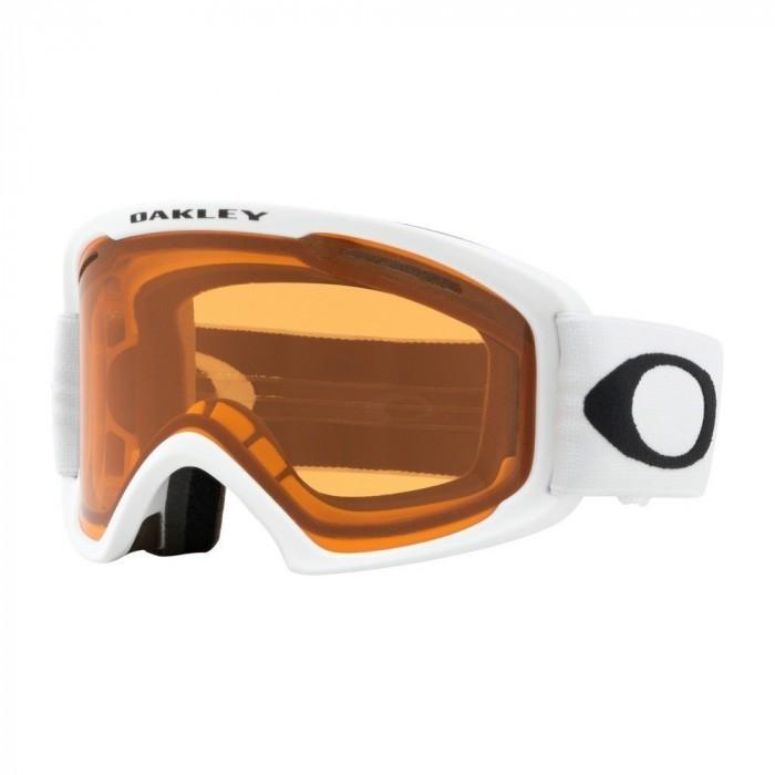 O Frame 2.0 Pro XM MATTE WHITE PERSIMMON & DARK GREY Maschera Snow