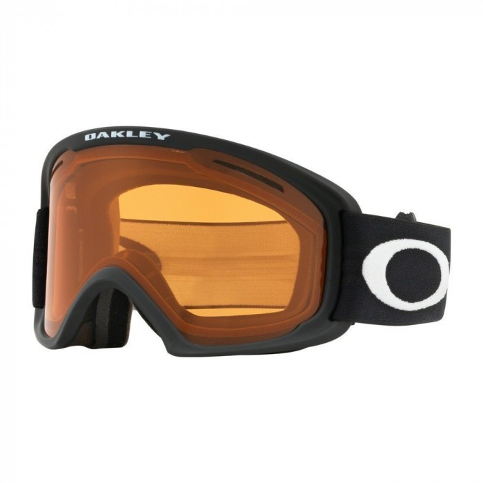 O Frame 2.0 Pro Youth MATTE BLACK PERSIMMON & DARK GREY Maschera Snow Bambino