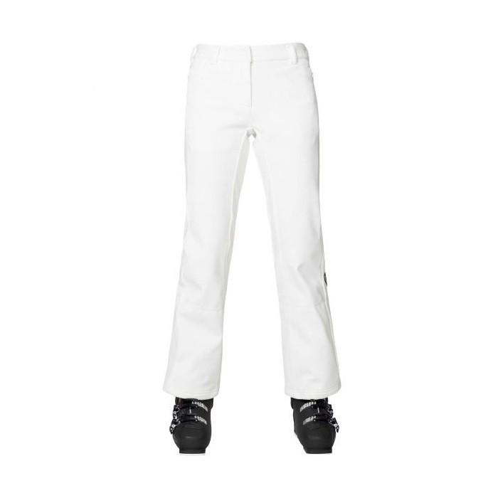 W Ski Softshell Pant Pantalone Sci Donna White