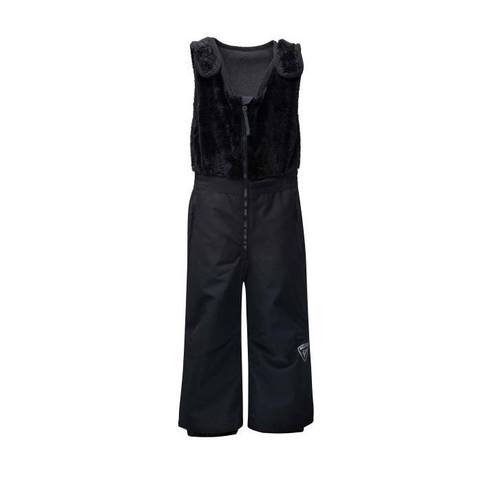 Kid Ski Pant Pantalone Sci Bambino Black