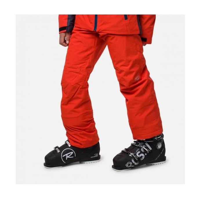 Boy Ski Pant Pantalone Sci Bambino Orange