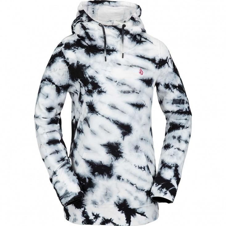 Costus P/Over Fleece Felpa Snowboard Donna White