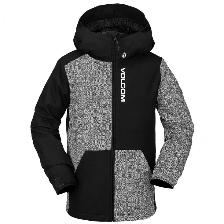 By 17Forty Ins Jkt Giacca Snowboard Bambino Black