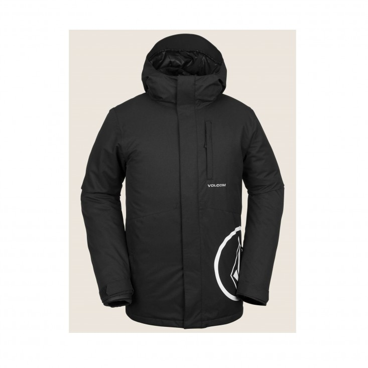 By 17Forty Ins Jkt Giacca Snowboard Uomo Black